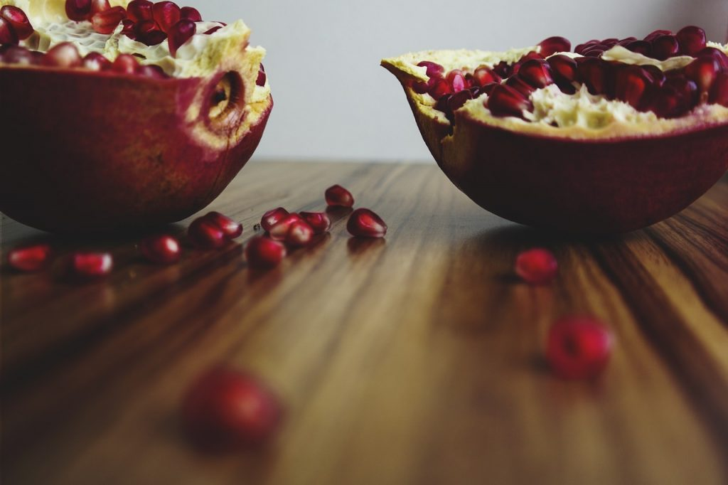 pomegranate husk or peel is to treat bacterial infections and overgrowths klebsiella infection natural treatment options